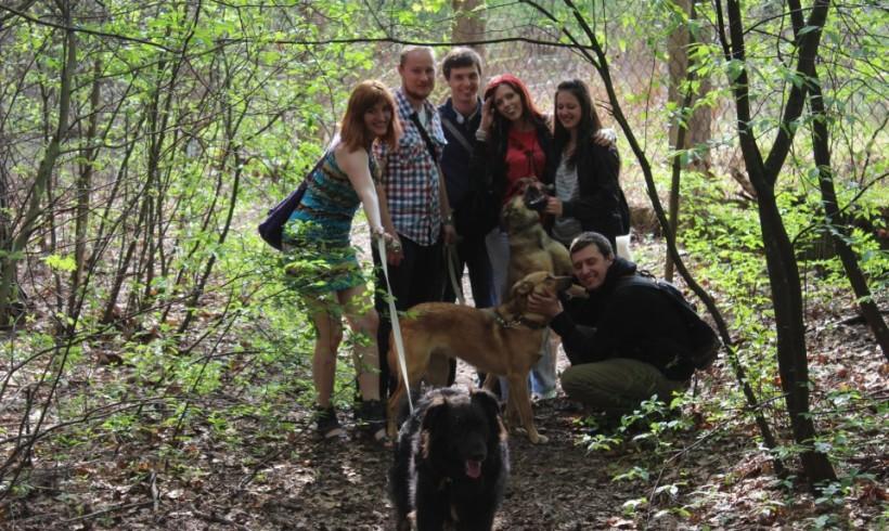 Visiting Animal Shelter