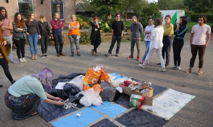 """ArtCycling"" training course in Upcycling and the Zero Waste Approach"